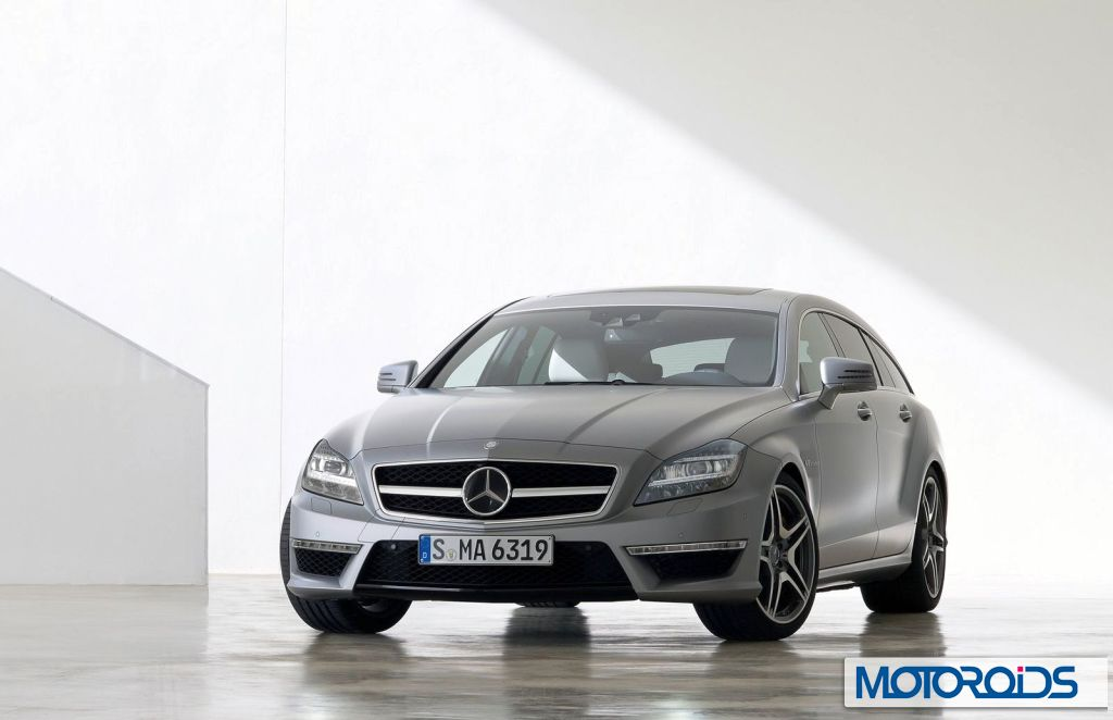 Mercedes CLS 63 AMG Shooting Brake: First images and details