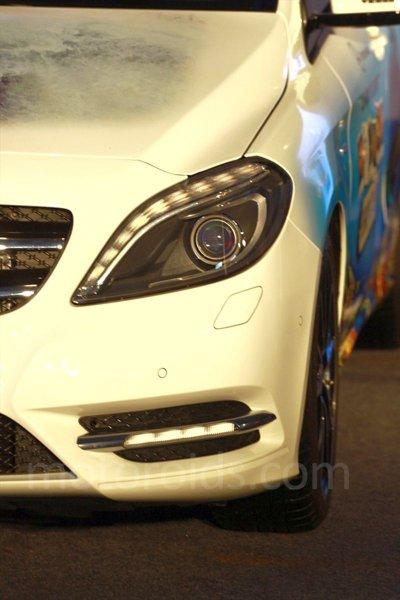 Mercedes B Class (B 200) driven around BIC: First impressions
