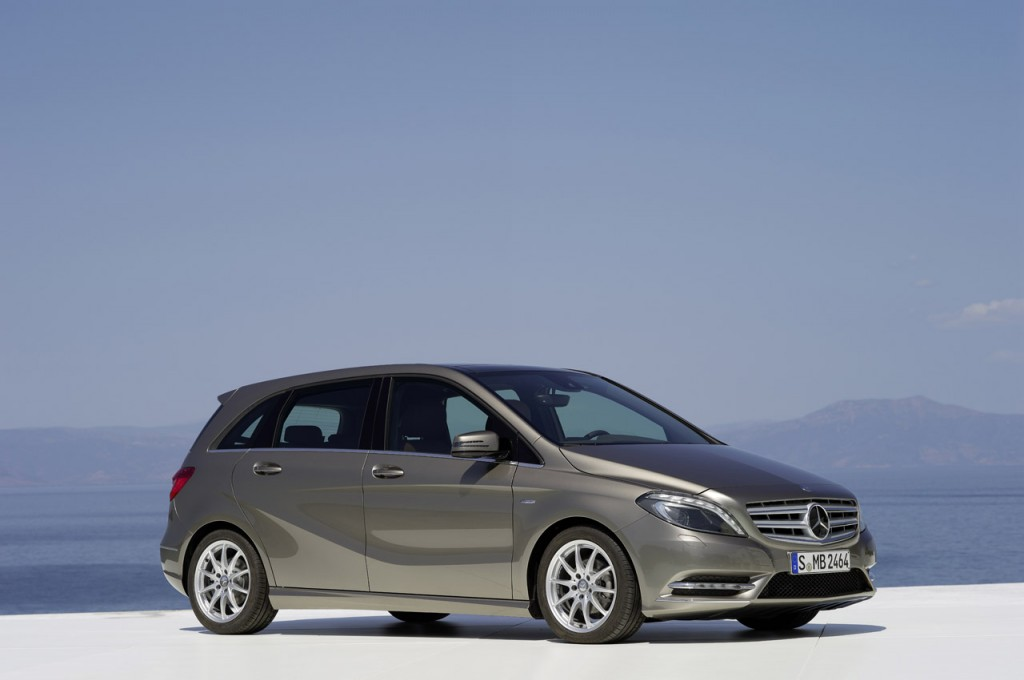 Mercedes Benz B Class showcased in India. Launch soon