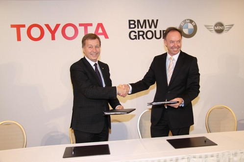 bmw toyota Toyota & BMW join hands to develop new sportscar