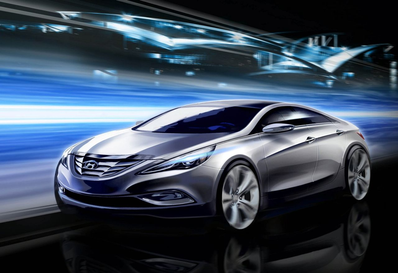 hyundai fluidic sketches Fluidic Precision to be the next big thing to come out of Hyundai design studios