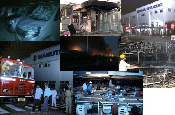 maruti 4 Maruti tells in detail about the scuffle at its Manesar Plant