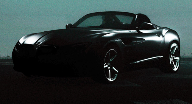 Photo Teaser of BMW Zagato Roadster Concept Published