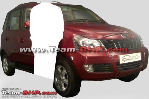 Mahindra Quanto to be Launched on 20th September: Spy images and details