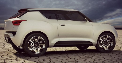 Ssangyong XIV-3 Concept to be Showcased at Paris Motor Show