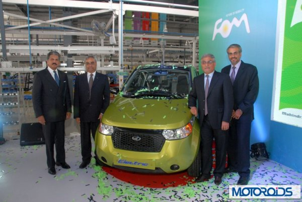 Mahindra inaugurates Reva's new manufacturing plant in Bangalore