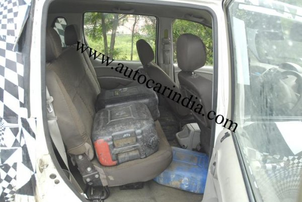 Mahindra Quanto interior images and more details