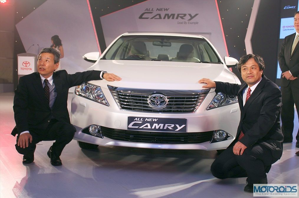 All new Toyota Camry launched at INR 23.8 lakhs