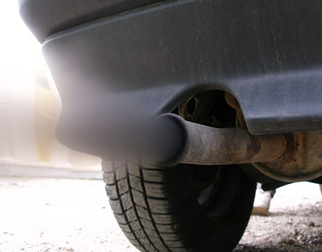 car exhaust fumes Car exhaust fumes to cure heart ailments !!