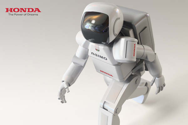 honda asimo ASIMO Is Invited to Germany As An Example Of Technological Creativity
