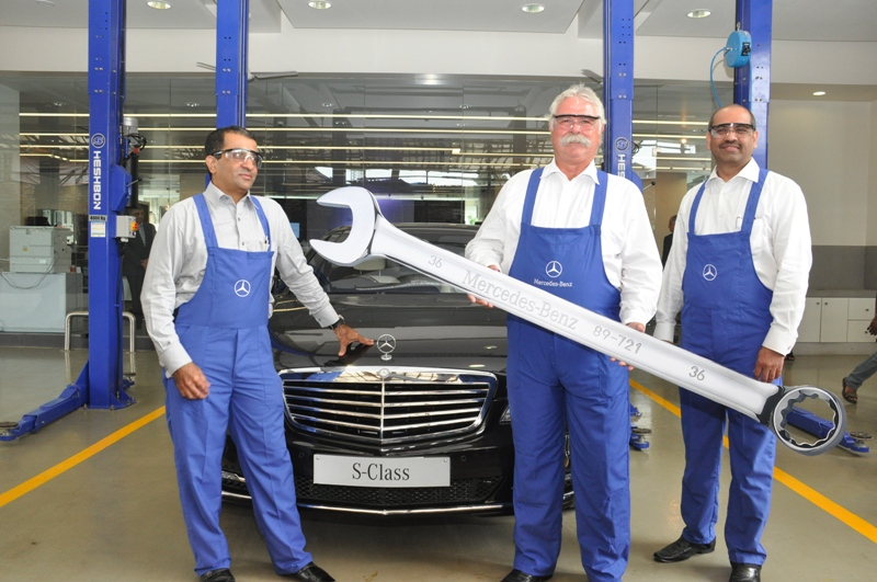Mercedes-Benz India inaugurates the largest luxury car workshop in India