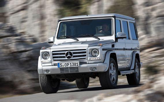 UNVEILED: 2013 Mercedes Benz G Class