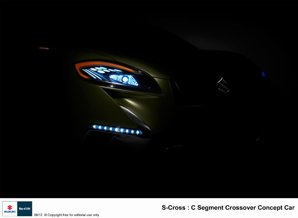s cross  Suzuki S Cross coupe crossover to be unveiled at Paris Motor Show