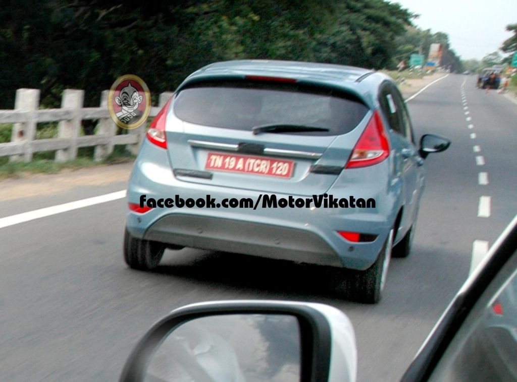 Ford Fiesta Hatchback Caught Testing in India. 2015 Launch