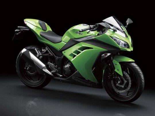 Kawasaki Ninja 300R Breaks Cover