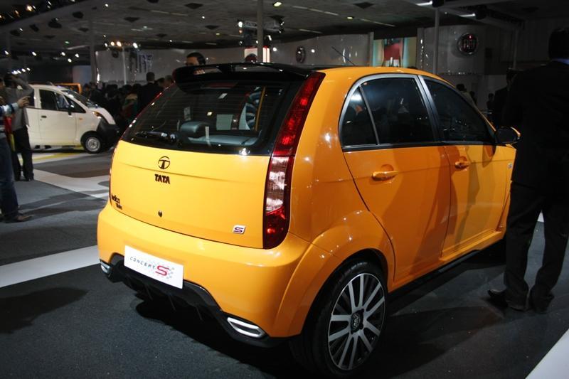 tata indica concept s 2010 auto expo