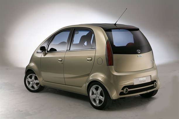 Tata Nano Europa at Auto Expo 2010