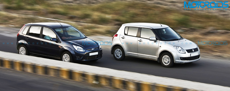 Ford Figo Vs Maruti Suzuki Swift - Motoroids.com