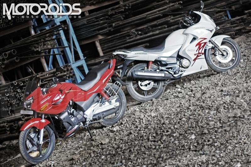 Karizma R v/s ZMR Hero Honda Motoroids emag bike india