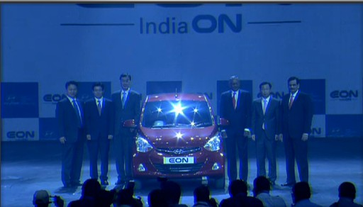 Hyundai Eon Launch