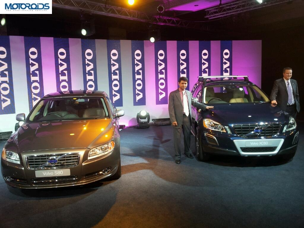 13292904120215 Volvo launches new variants of XC60, S60 and S80 in India.