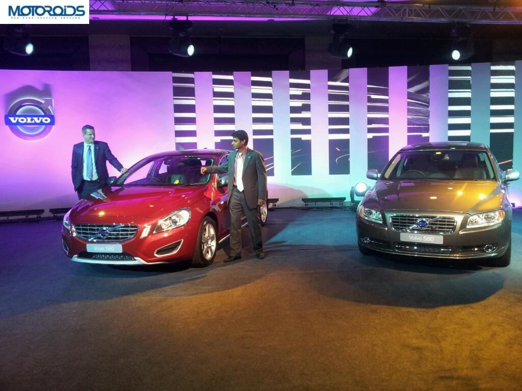 13292904278077 Volvo launches new variants of XC60, S60 and S80 in India.