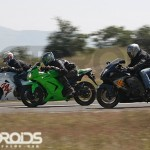 Karizma ZMR first ride – with the HAYABUSA and NINJA 250R