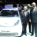 Tata revealed its Nano EV at the Geneva Motor Show