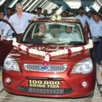 Ford rolls out its 1,00,000th Fiesta from its Chennai plant
