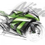 Kawasaki reveals 2011 Ninja ZX-10R with design sketch, teaser video