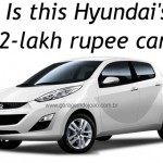 Hyundai's 800cc, 2-lakh rupee, sub-Santro car coming to Auto Expo 2012