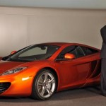 McLaren to present the MP4-12C supercar to the public at the Goodwood Festival of Speed