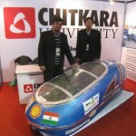 Stealth 2 with Autodesk Showcasing their Vehicle in Chandigarh on 22 June