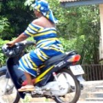 Motorcycle Law in Ghana, West Africa now only allows women to ride!
