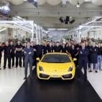 10,000 Lamborghini Gallardos on road…