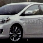 2012 Toyota Corolla – rendered image and development progress