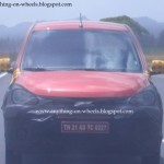 Spy pictures : Hyundai i10 facelift – coming this Diwali