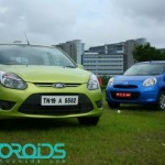 Ford Figo Vs Nissan Micra – road test / shootout / comparo