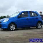 Road Test Review: 2010 Nissan Micra K13 for India with price, specs, performance figures and other details