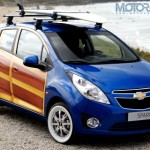 Chevrolet shows a one-off Spark / Beat 'Woody'