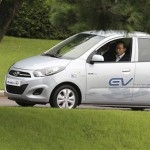 Hyundai 'BlueOn' Electric Car Unveiled! Based on 2011 Hyundai i10