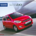 Hyundai i10 facelift: brochure leaks; launching in India tomorrow