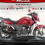 Hero Honda launches new Hunk