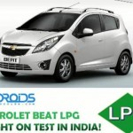 Exclusive video: Chevrolet Beat LPG caught testing