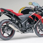 Mugen and Moriwaki tuned Honda CBR250R bikes