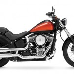 Newest Harley on the block, the FXS Blackline, with video