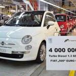 Fiat 1.3 Multijet engines sold 4 million units.