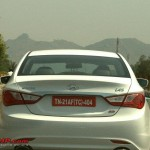 Hyundai Sonata YF / i45 caught testing in India