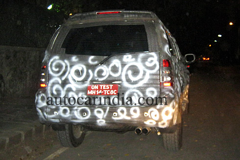 Force Motors SUV spied near Boat club in Pune