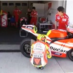 Video: Rossi tests the Ducati Desmosedici GP12